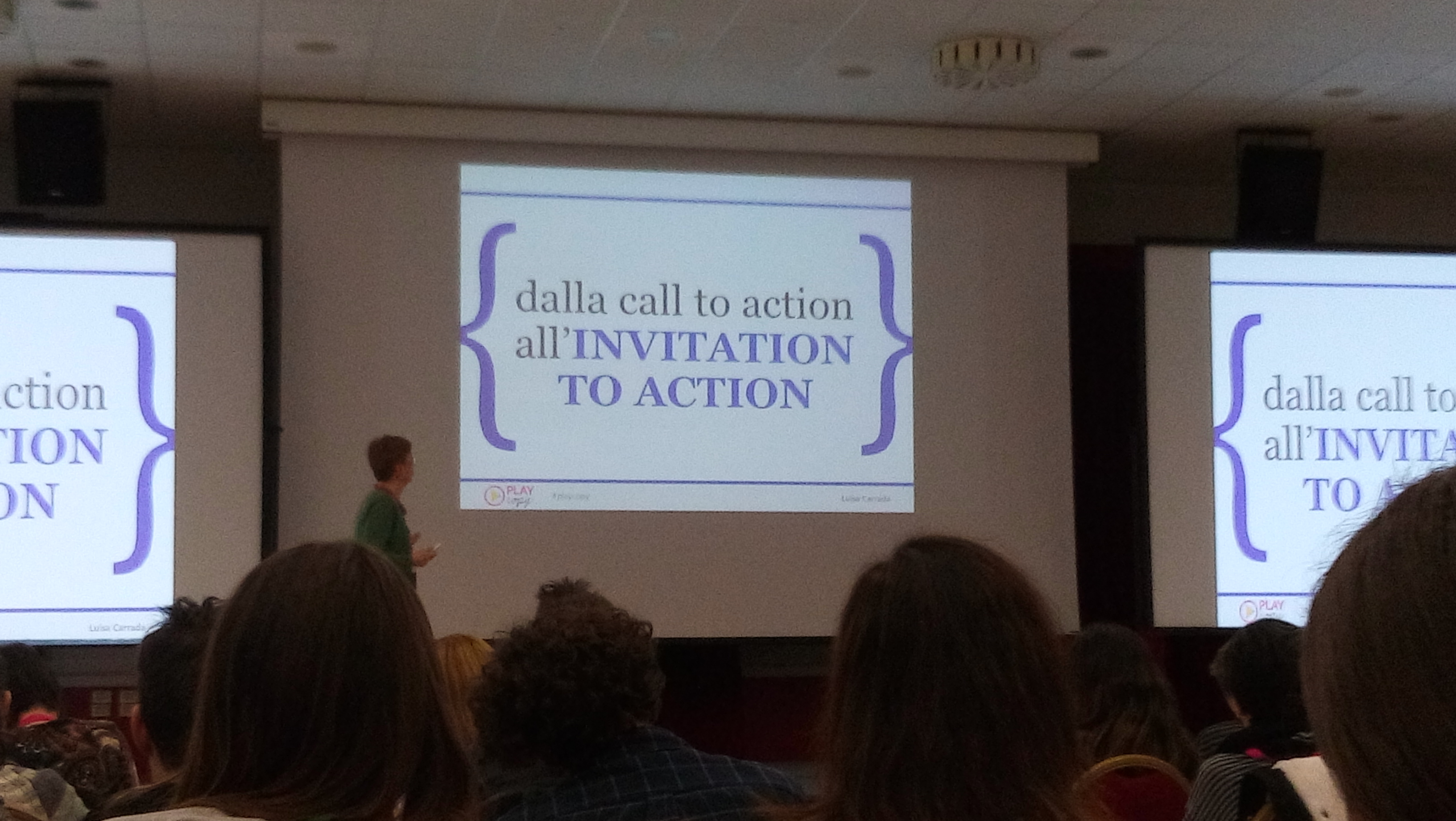 dalla call to action alla call to invitation