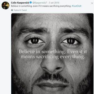Campagna NIKE_2018_ Believe in something