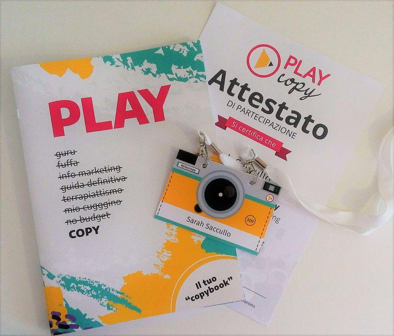Play Copy 2019 l'evento italiano del copywriting