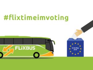 Promo Flixbus per elezioni europee