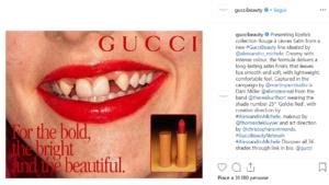Nuova campagna di Gucci